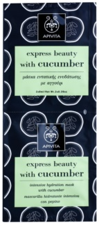 Apivita Express Beauty Cucumber Intensief Hydraterende Gezichtsmasker