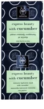 Apivita Express Beauty Cucumber intenzivní hydratační pleťová maska