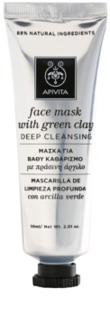 Apivita Express Beauty Green Clay globinsko čistilna maska za obraz