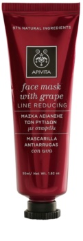 Apivita Express Beauty Grape maschera viso antirughe e rassodante