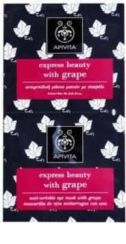 Apivita Express Beauty Grape máscara para olhos antirrugas