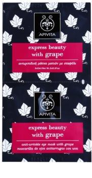 Apivita Express Beauty Grape očná protivrásková maska