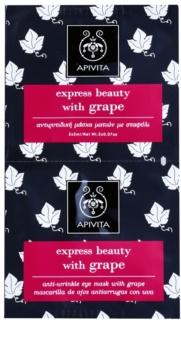 Apivita Express Beauty Grape oční protivrásková maska