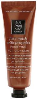 Apivita Express Beauty Propolis tisztító maszk zsíros bőrre