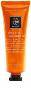 Apivita Express Beauty Apricot sanftes Haut-Peeling