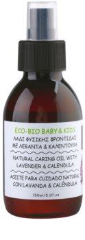 Apivita Eco-Bio Baby & Kids óleo hidratante e de suavização para crianças
