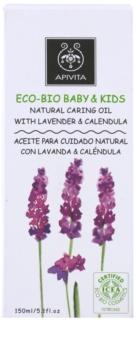 Apivita Eco-Bio Baby & Kids зволожуюча та заспокоююча олійка для дітей