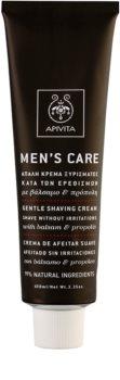 Apivita Men's Care Balsam & Propolis nežna krema za britje