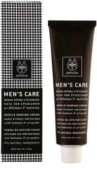 Apivita Men's Care Balsam & Propolis gyengéd krém borotválkozáshoz