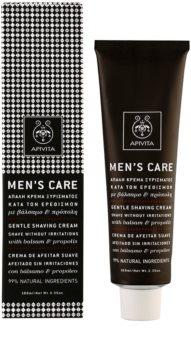 Apivita Men's Care Balsam & Propolis Zachte Crème  voor het Scheren