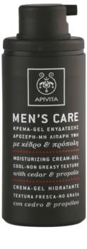 Apivita Men's Care Cedar & Propolis crema-gel effetto idratante