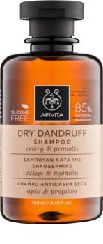 Apivita Holistic Hair Care Celery & Propolis шампунь проти лупи