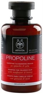 Apivita Holistic Hair Care Sunflower & Honey szampon do włosów farbowanych