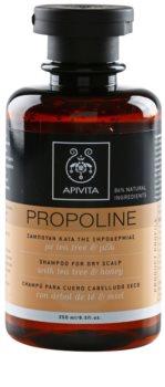 Apivita Holistic Hair Care Tea Tree & Honey sampon száraz, viszkető fejbőrre