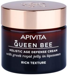 Apivita Queen Bee nährende Creme gegen Hautalterung