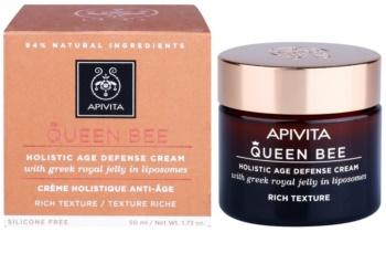 Apivita Queen Bee Holistic Age Defense Cream Rich Texture