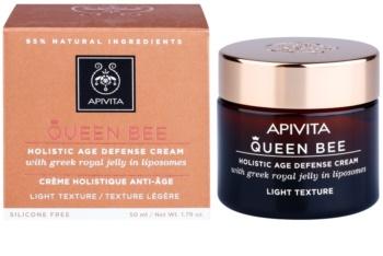 Apivita Queen Bee könnyű krém a bőröregedés ellen