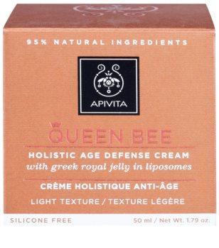 Apivita Queen Bee Holistic Age Defense Cream Light Texture