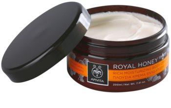 Apivita Royal Honey crema corporal hidratante con aceites esenciales