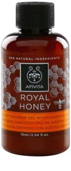 Apivita Royal Honey cremiges Duschgel mit ätherischen Öl
