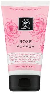 Apivita Rose Pepper crema modellante per il corpo
