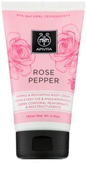 Apivita Rose Pepper crème définition corps