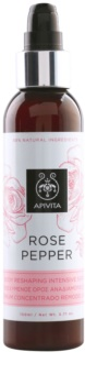 Apivita Rose Pepper intensives, festigendes Serum gegen Zellulitis