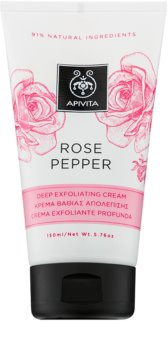 Apivita Rose Pepper esfoliante de limpeza