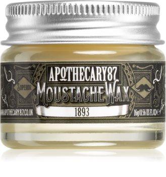 Apothecary 87 1893 cera para bigode