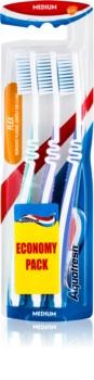 Aquafresh Flex szczoteczki do zębów medium