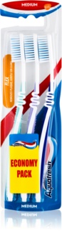 Aquafresh Flex spazzolini da denti medio duri