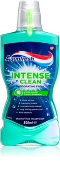 Aquafresh Intense Clean Invigorating Fresh collutorio per un alito fresco lunga durata