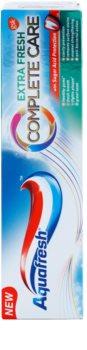 Aquafresh Complete Care Extra Fresh dentifrice au fluorure pour une haleine fraîche