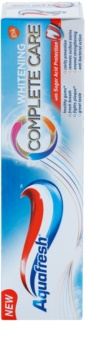 Aquafresh Complete Care Whitening bělicí zubní pasta s fluoridem