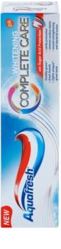 Aquafresh Complete Care Whitening bleichende Zahnpasta mit Fluor