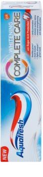 Aquafresh Complete Care Whitening dentífrico branqueador com fluoreto