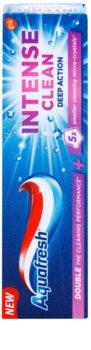Aquafresh Intense Clean Deep Action pasta de dientes con microcristales activos