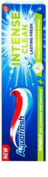 Aquafresh Intense Clean Lasting Fresh fogkrém a friss leheletért