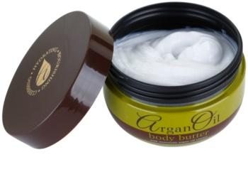 Argan Oil Hydrating Nourishing Cleansing manteiga corporal  com óleo de argan