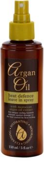 Argan Oil Hydrating Nourishing Cleansing sprej pro tepelnou úpravu vlasů