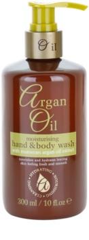 Argan Oil Hydrating Nourishing Cleansing sabonete líquido nutritivo com óleo de Argan