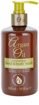 Argan Oil Hydrating Nourishing Cleansing θρεπτικό ρευστό σαπούνι με αργανέλαιο