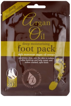 Argan Oil Pack feuchtigkeitsspendende Socken