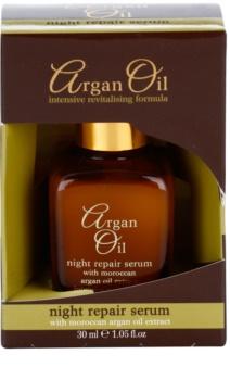Argan Oil Revitalise Cares Protect trattamento rigenerante notte con olio di argan