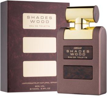 Armaf Shades Wood eau de toilette per uomo 100 ml