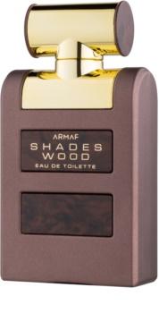 Armaf Shades Wood Eau de Toilette für Herren 100 ml