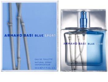 Armand Basi Blue Sport eau de toilette pour homme 50 ml