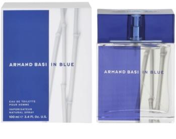 Armand Basi In Blue eau de toilette para homens 100 ml