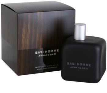 Armand Basi Basi Homme Eau de Toilette voor Mannen 125 ml