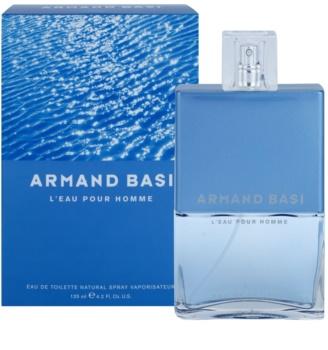 Armand Basi L'Eau Pour Homme Eau de Toilette Für Herren 125 ml
